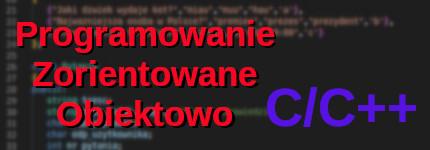 Course Image Podstawy programowania zorientowane obiektowo /Brzeżek/L21